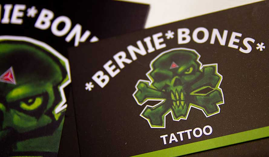 bernie tatoo